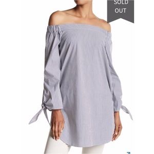 NWT Philosophy off the shoulder tunic